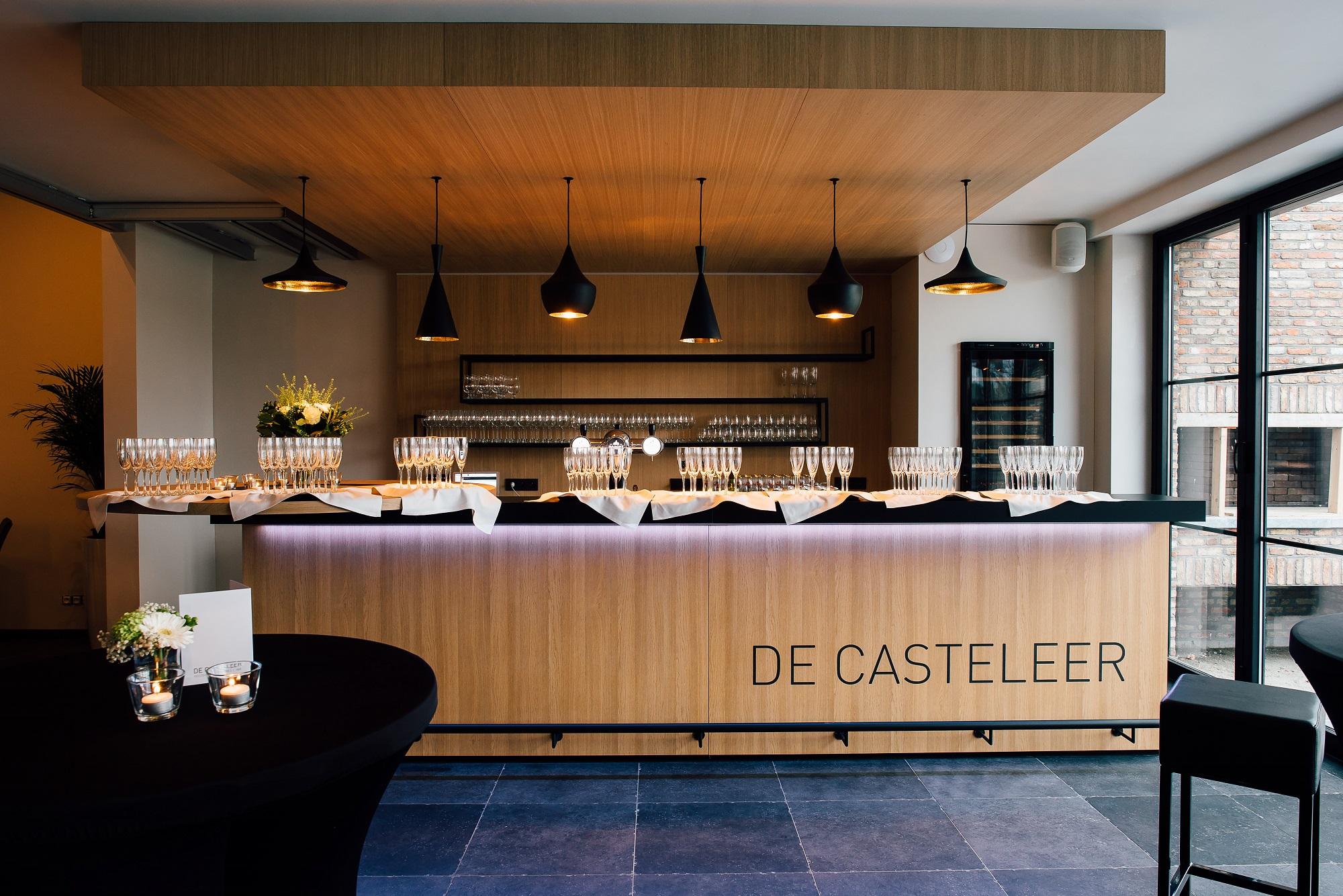 Uitbreiding van een feestzaal in het centrum van Kasterlee